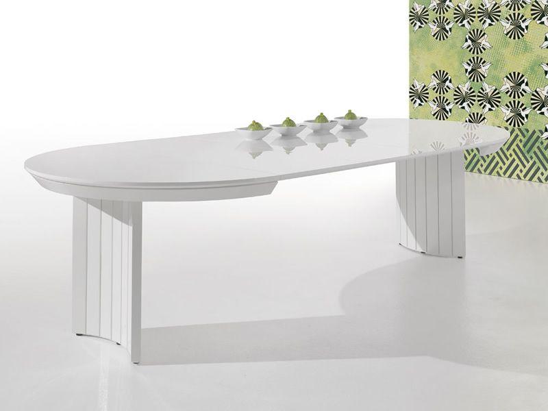 Anversa table ronde design extensible sediarreda for Table ronde extensible design