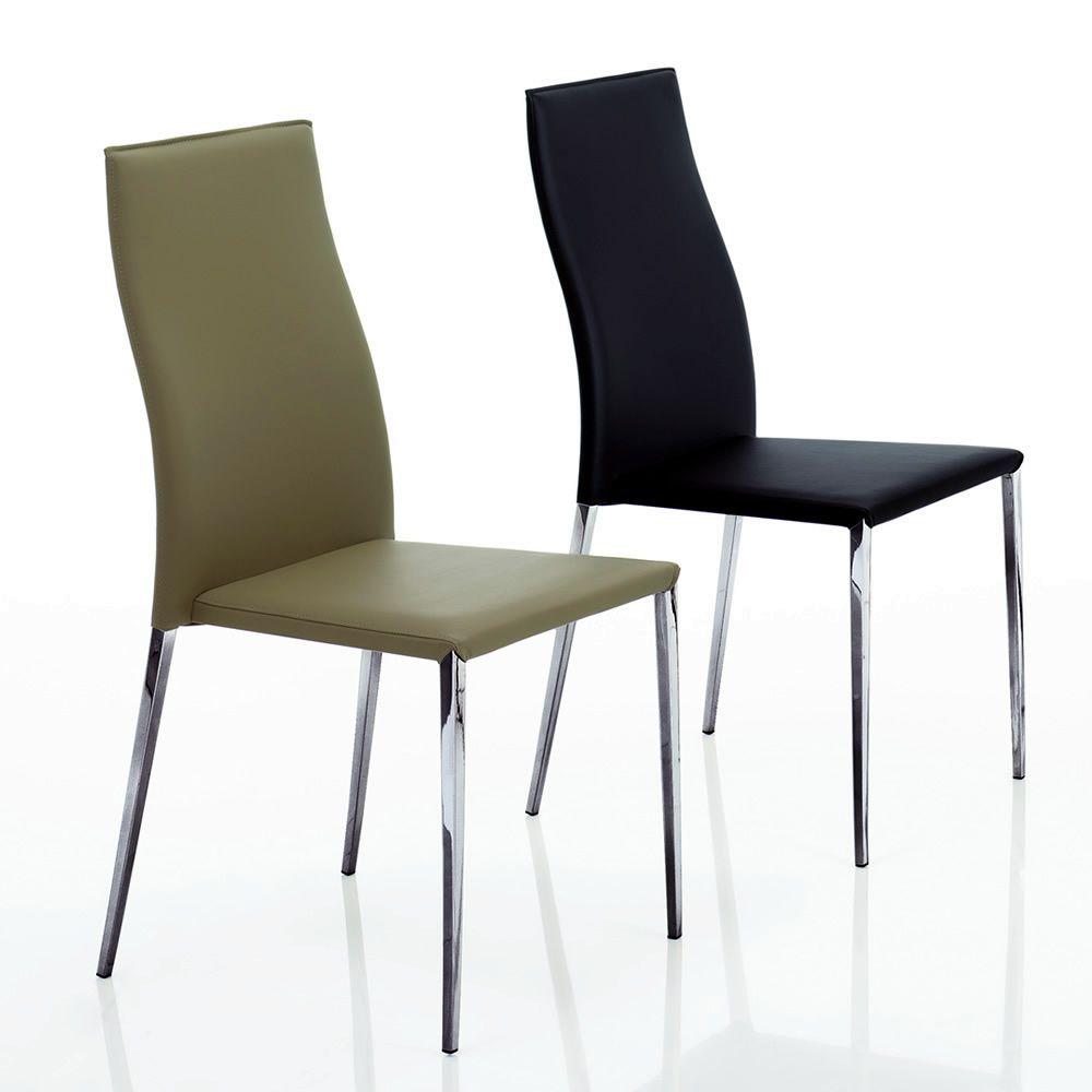 Tai sedia imbottita bontempi casa in metallo for Sedia wrap