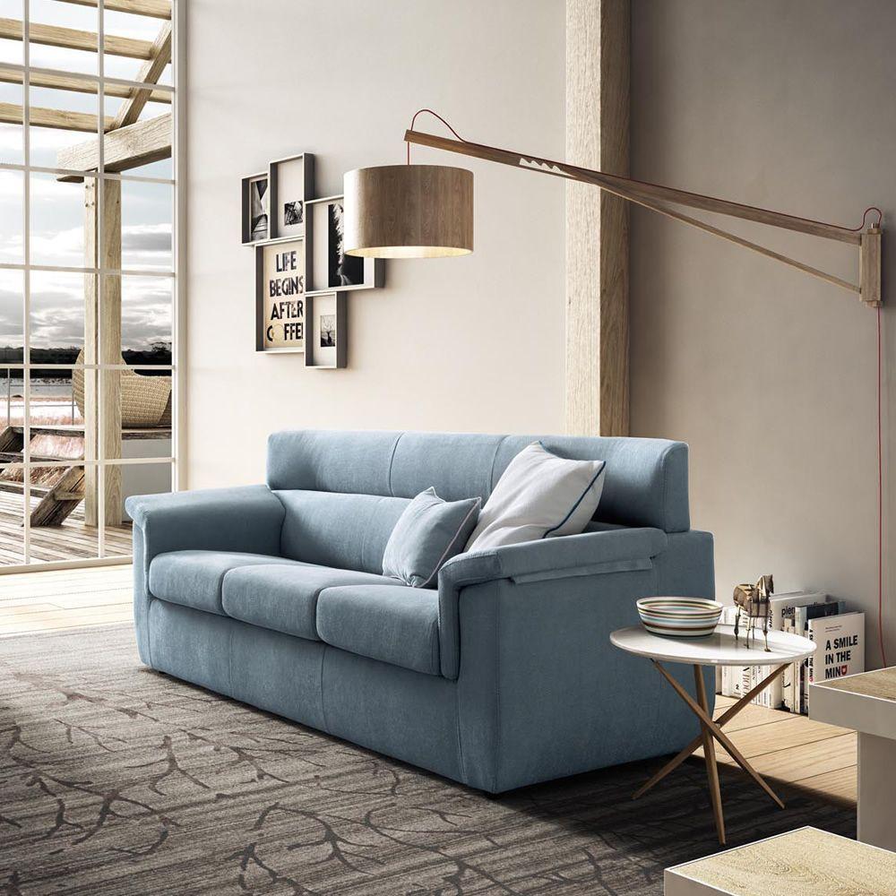 Trick divano moderno completamente sfoderabile anche divano letto sediarreda - Profondita divano ...