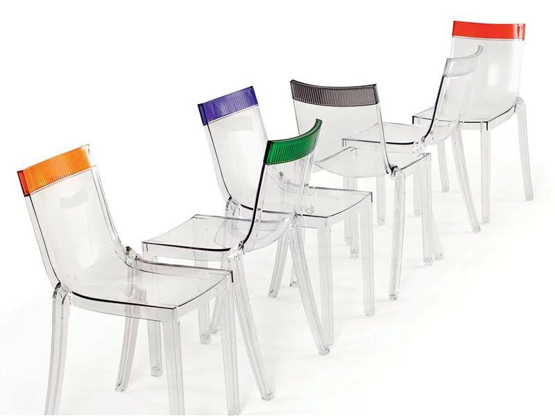 Arredo Ufficio Kartell : Hi cut sedia kartell di design in policarbonato impilabile
