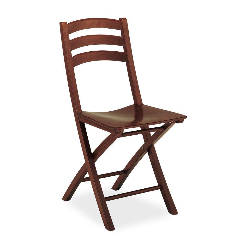 Cb1196 ambra chaise pliante connubia calligaris en bois - Assise de chaise en bois ...