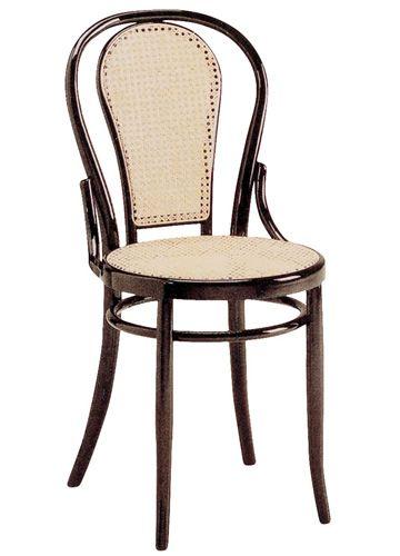 Se21 sedia viennese in legno diverse tinte e sedute for Sedia design paglia di vienna