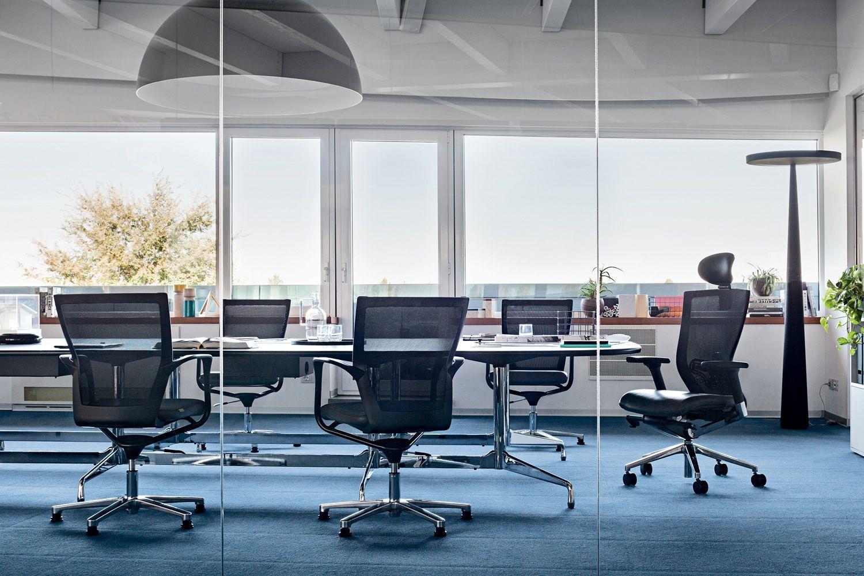 X chair host poltroncina direzionale da ufficio con o for Poltrone x ufficio