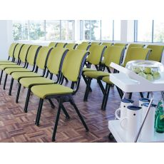 Conventio ® - Ergonomic conference chair by HÅG, stackable, partially padded