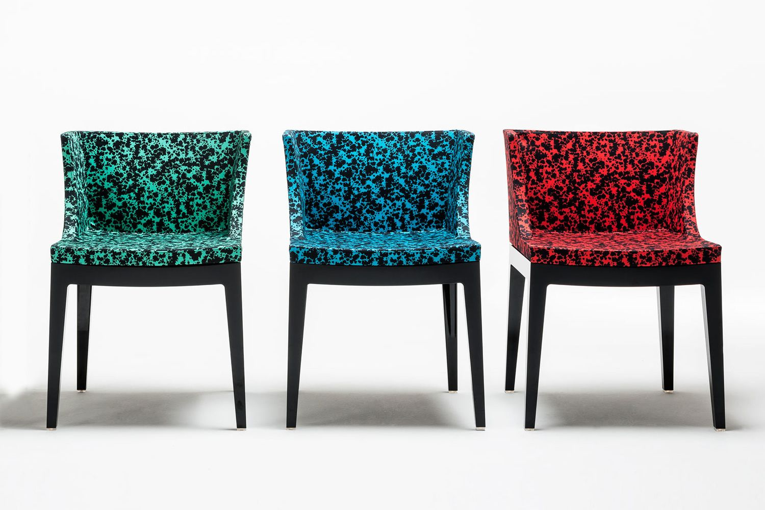 Mademoiselle memphis by sottsass design small armchair kartell goes sottsass - Fauteuil kartell mademoiselle ...