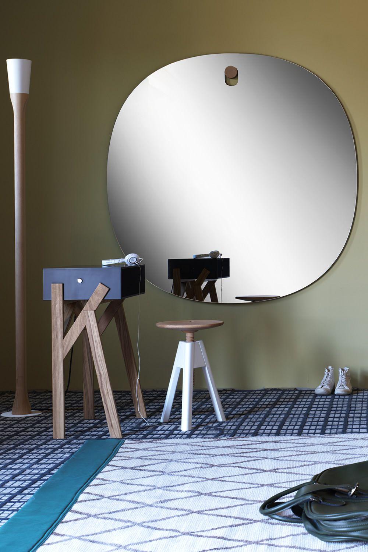 Bigger brothers co specchio miniforms di design tondo o rettangolare diverse dimensioni - Specchio tondo ikea ...