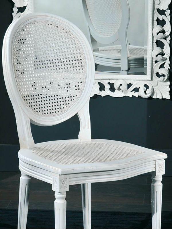 Vst120 sedia classica in legno e paglia di vienna in for Sedia design paglia di vienna