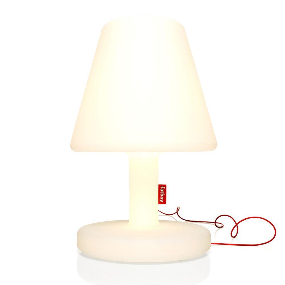 edison the grand lampada da terra fatboy in polipropilene bianco led anche per esterno. Black Bedroom Furniture Sets. Home Design Ideas
