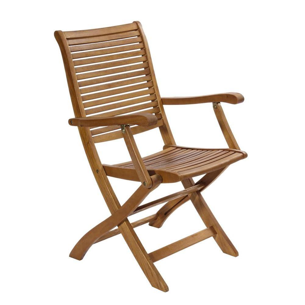 tortuga klappbarer stuhl aus balau mit armlehnen f r garten sediarreda. Black Bedroom Furniture Sets. Home Design Ideas