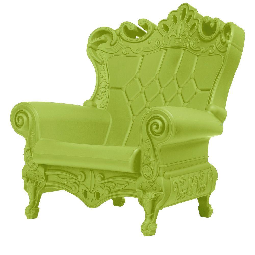 Poltrone In Plastica Stile Barocco.Little Queen Of Love Poltroncina Slide In Polietilene Anche Per