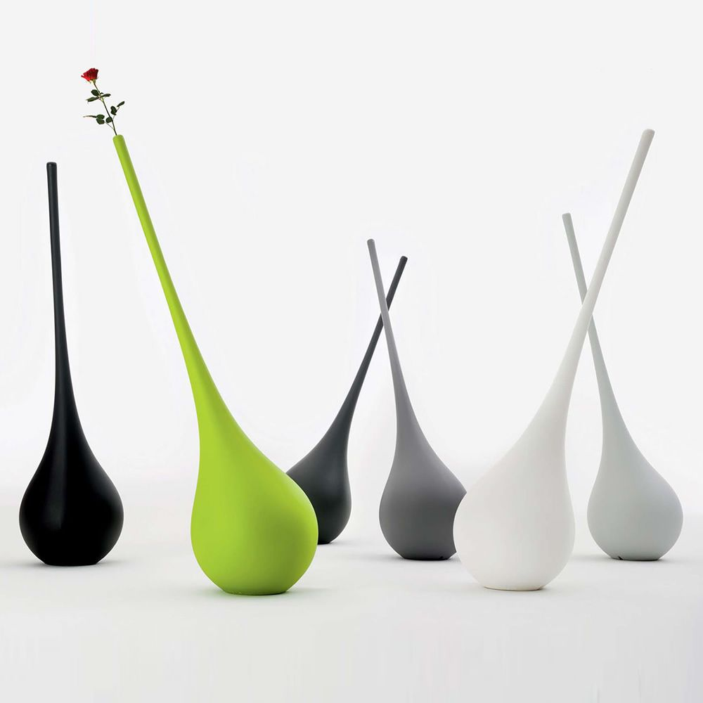 Ampoule | Vaso di design - lampada da terra in Poleasy®, diversi colori disponibili, anche per esterno