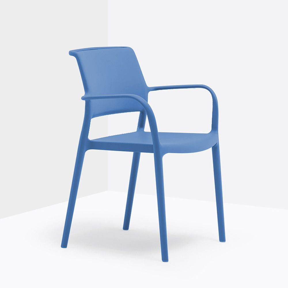Ara 315 fauteuil pedrali en polypropyl ne empilable - Chaise de jardin couleur ...