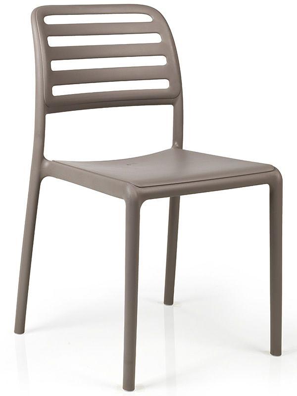 costa bistrot harz stuhl aus mit glasfaser verschiedene farben stapelbar auch f r garten. Black Bedroom Furniture Sets. Home Design Ideas