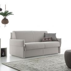 Hugo - 2 maxi seater sofa bed, totally removable covering, different upholsteries and colors available