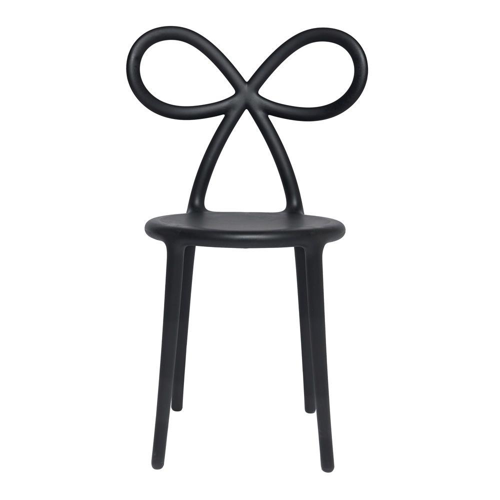 Ribbon chair sedia di design qeeboo con schienale a for Sedia di design