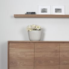 Wall Shelf-T - Ethnicraft wall shelf made of teak, different sizes available
