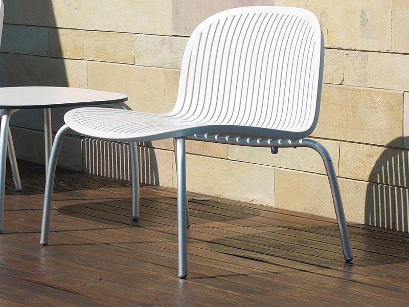 ninfea relax lounge stuhl aus aluminium und harz stapelbar verschiedene farben f r garten. Black Bedroom Furniture Sets. Home Design Ideas