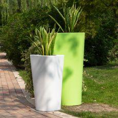 Eve - Vaso di design B-Line, in polietilene, anche per esterno, disponibile in diversi colori e dimensioni