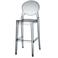 Igloo S 2358 - Sgabello in policarbonato, impilabile, altezza seduta a 65 o 75 cm, anche per esterno