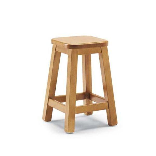 Av309b taburete r stico en madera de pino disponible en - Taburetes de madera ...