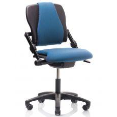 H03 ® Q - Chaise de bureau ergonomique HÅG, avec ou sans accoudoirs, différentes couleurs