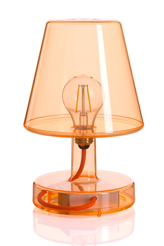 transloetje tischlampe fatboy aus transparentem policarbonat in verschiedenen farben. Black Bedroom Furniture Sets. Home Design Ideas