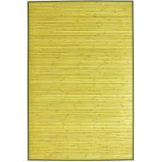 Ceylon - Alfombra de bambú, disponible en color verde