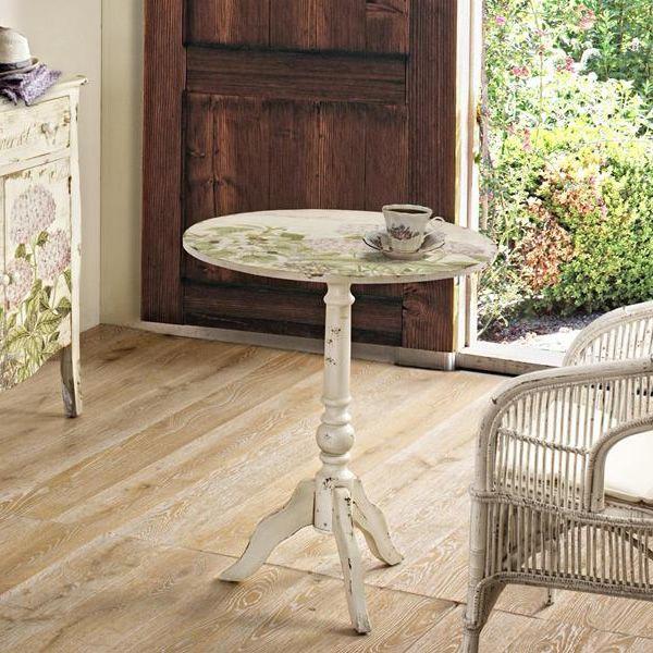 elba t lampentisch aus holz runde tischplatte mit durchmesser 60 cm sediarreda. Black Bedroom Furniture Sets. Home Design Ideas