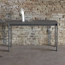 Etico Plus consolle - Extendable design console Bontempi Casa, in aluminium with laminate top, available in several colours