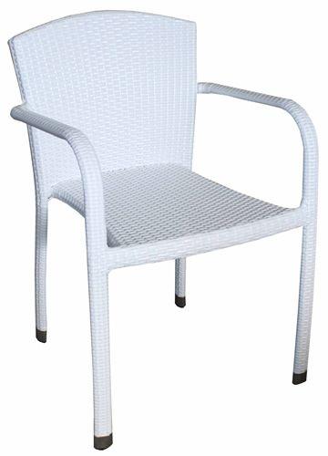 arc175 pour bars et restaurants chaise avec accoudoirs pour bars et restaurants en aluminium. Black Bedroom Furniture Sets. Home Design Ideas