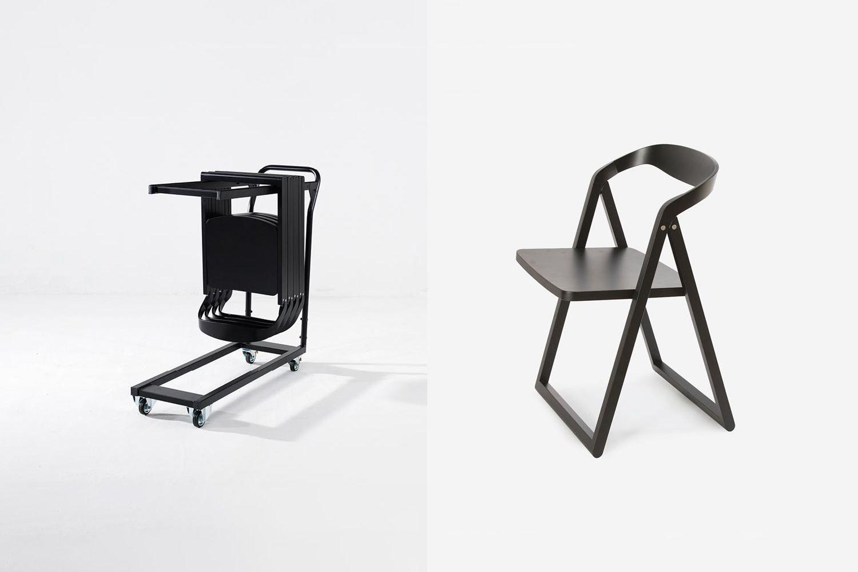 patan klappbarer stuhl aus holz in verschiedenen farben. Black Bedroom Furniture Sets. Home Design Ideas