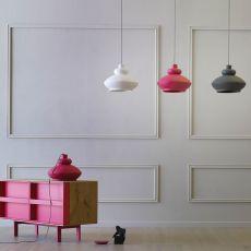Tora - Miniforms suspension lamp, in ceramic