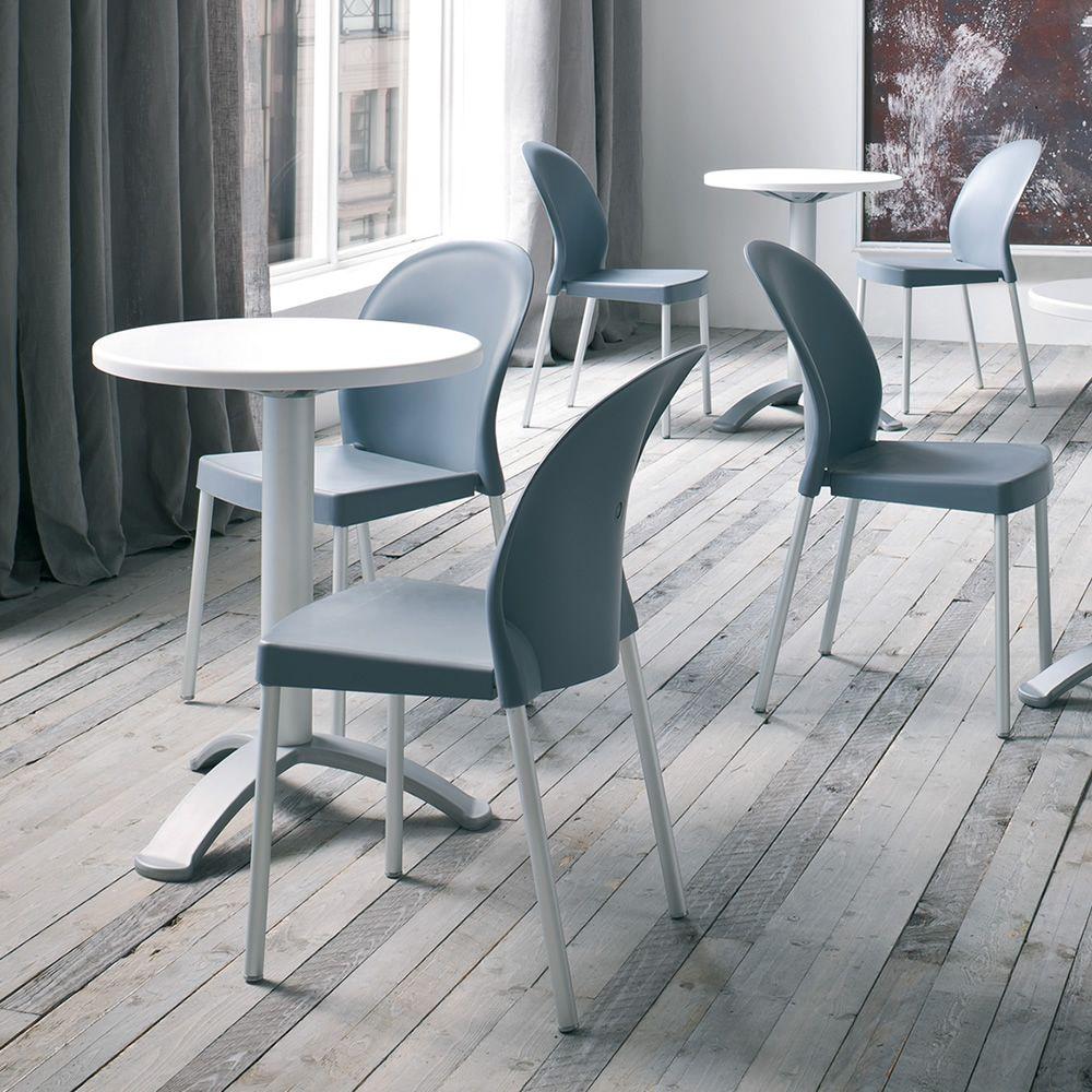 Mil per bar e ristoranti sedia moderna per bar e for Sedie in alluminio