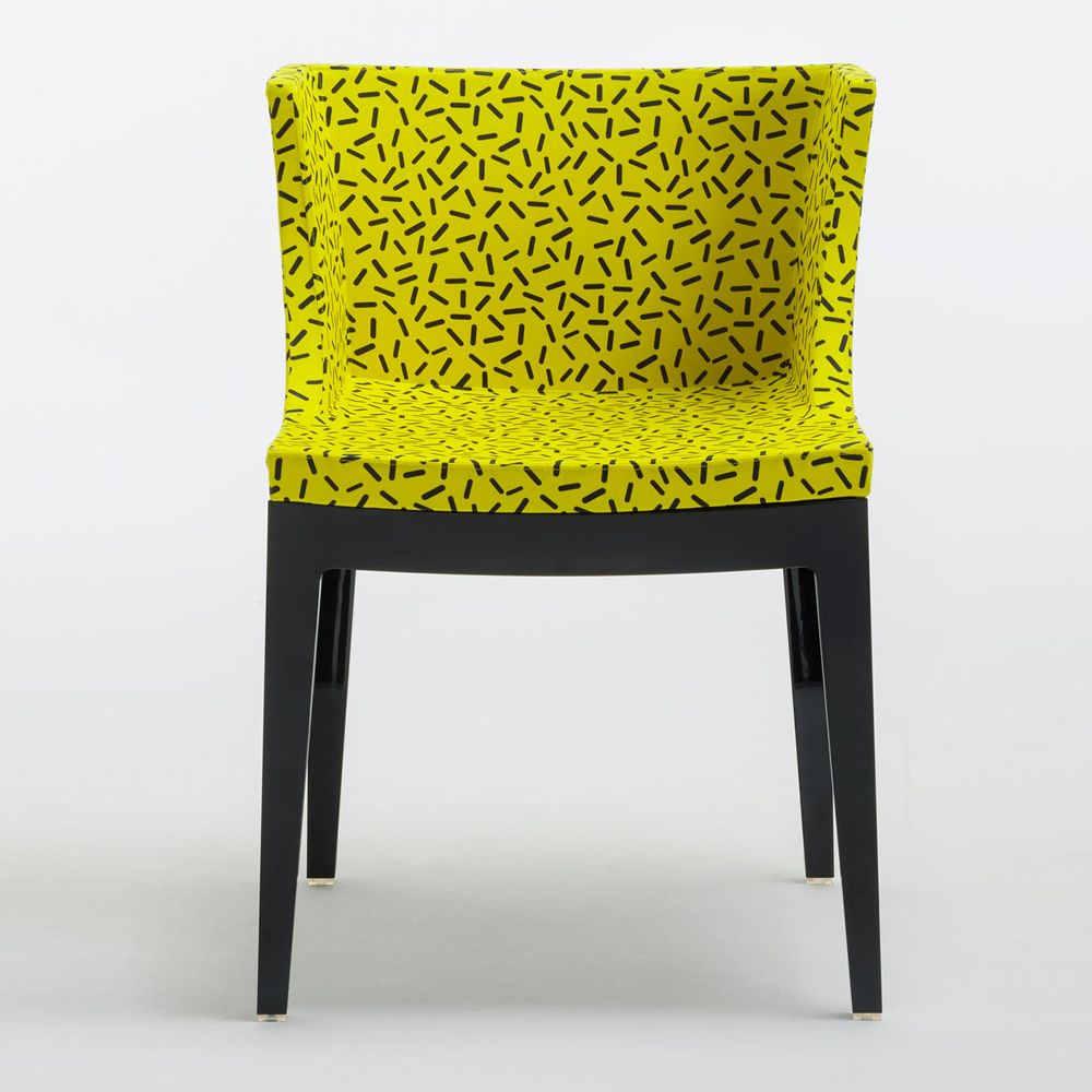 Mademoiselle memphis by sottsass poltroncina di design for Memphis sottsass