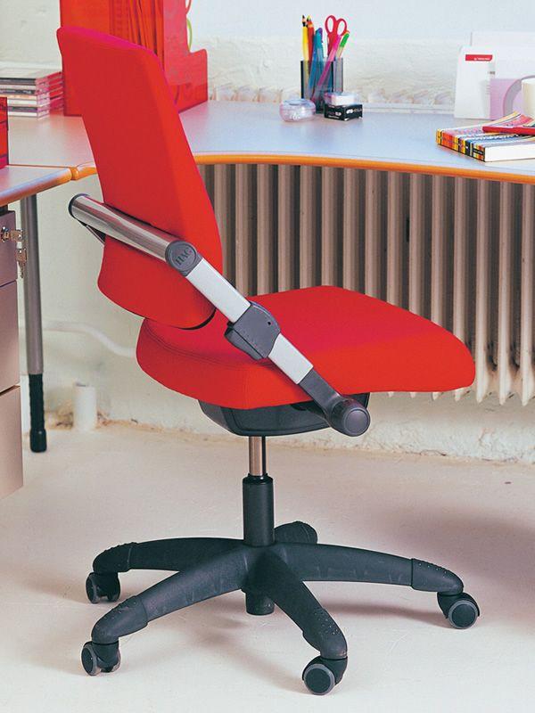 H03 ® R: Silla ergonómica de oficina HÅG, con o sin reposabrazos ...