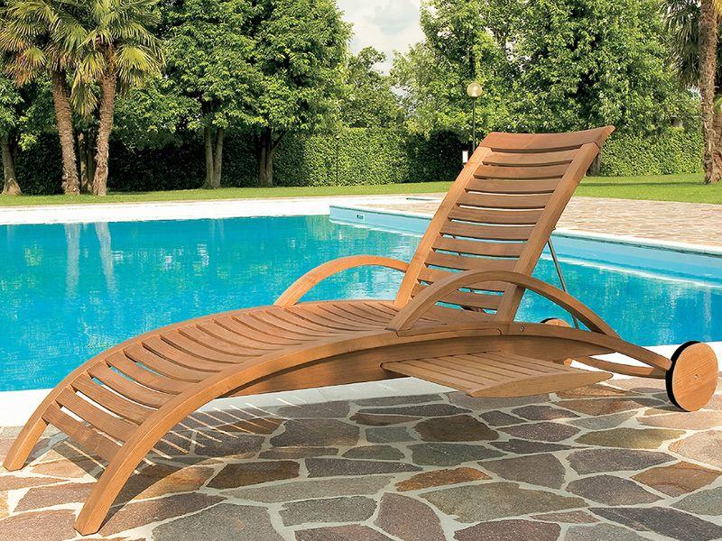 mirage l sonnenliege aus robinienholz verstellbare r ckenlehne mit oder ohne armlehnen. Black Bedroom Furniture Sets. Home Design Ideas
