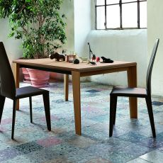 Aspen - Tavolo Colico Design in legno, rettangolare, allungabile 160(320)x100 cm, diversi colori disponibili