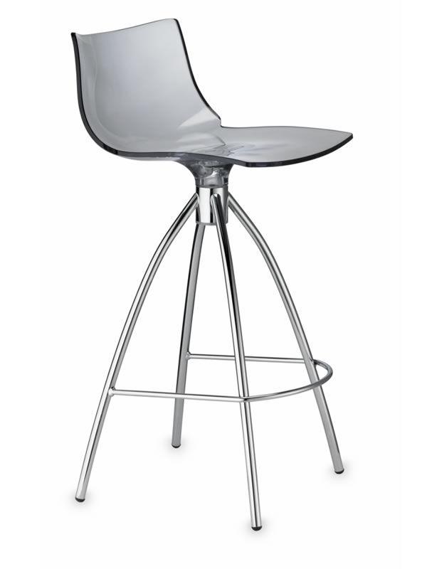 sc2293 daylight tabouret avec assise fum hauteur 65 cm. Black Bedroom Furniture Sets. Home Design Ideas