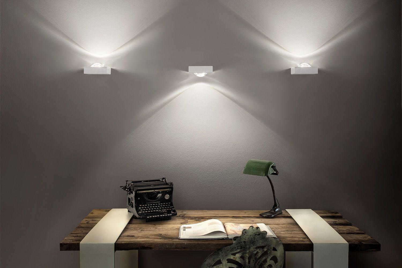 Shelf - Lampada a parete di design, in metallo, con luce LED ...