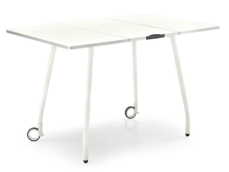 Cs4062 r blitz tavolo salvaspazio calligaris pieghevole for Offerte tavoli calligaris