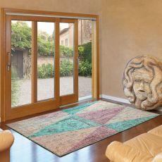 Arlecchino - Designer Teppich aus Wolle, in verschiedenen Größen und Farben verfügbar
