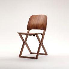 Nibe - Sedia pieghevole in legno massello