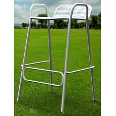 Pounch - Design stool in metal, stackable, seat's height 76 cm, for garden