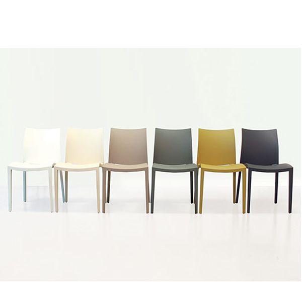 Go colico modern chair made of polypropylene stackable for Colico design sedia go