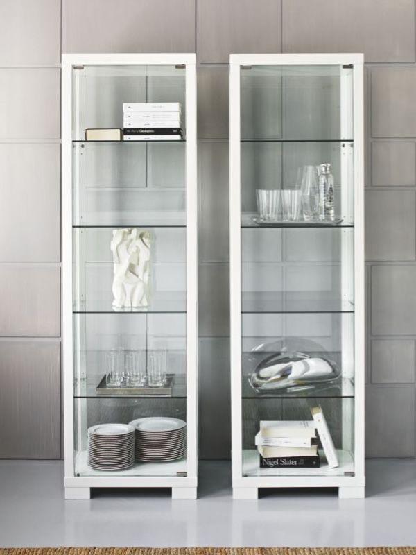 Cs580w 15p station meuble vitrine calligaris en bois et for Meuble vitrine montreal