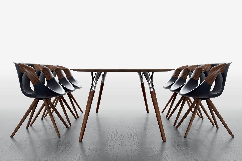 Up Chair Wooden Arms - Poltroncina di design Tonon, con gambe e ...