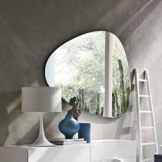 7529 Stone | Specchio sagomato di Tonin Casa, diverse misure