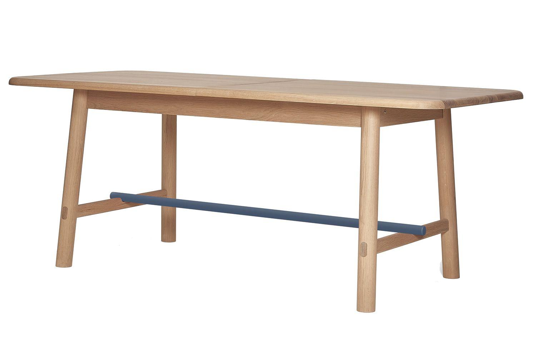 H L Ne Verl Ngerbarer Tisch Aus Holz Und Metall Sediarreda