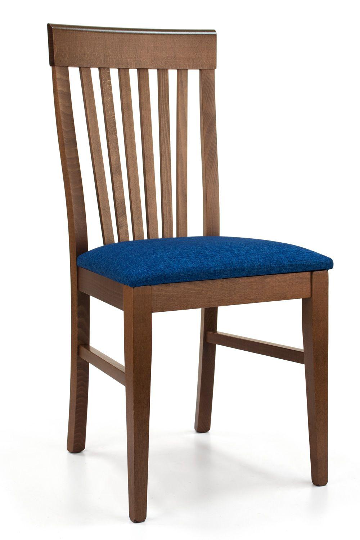 mu33 moderner holzstuhl mit gepolstertem sitz in verschiedenen farben und mit verschiedenen. Black Bedroom Furniture Sets. Home Design Ideas