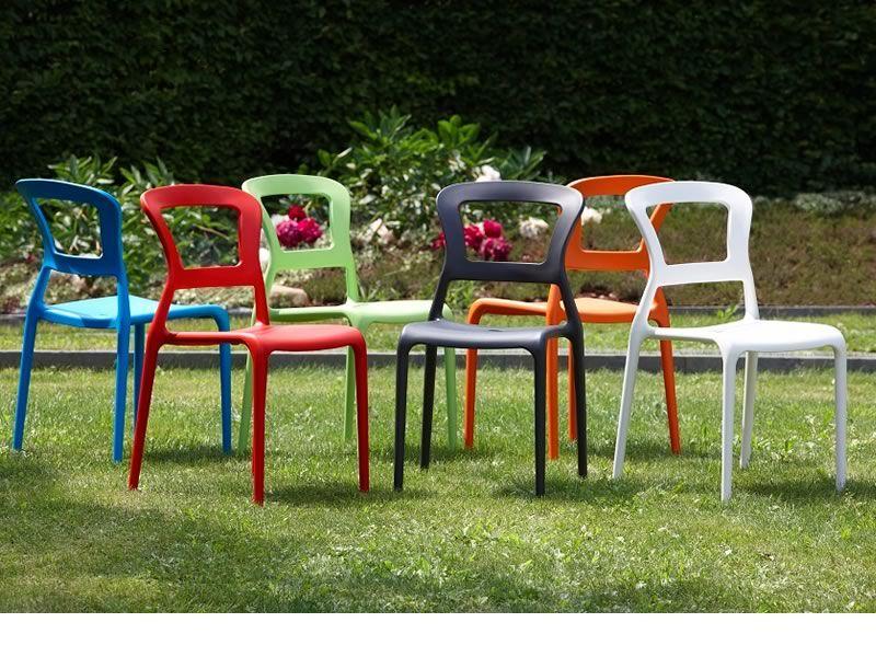 Pepper 2325 silla de tecnopol mero apilable disponible - Sillas para jardin ...